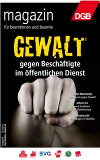 Beamtenmagazin 06/2015 Titel