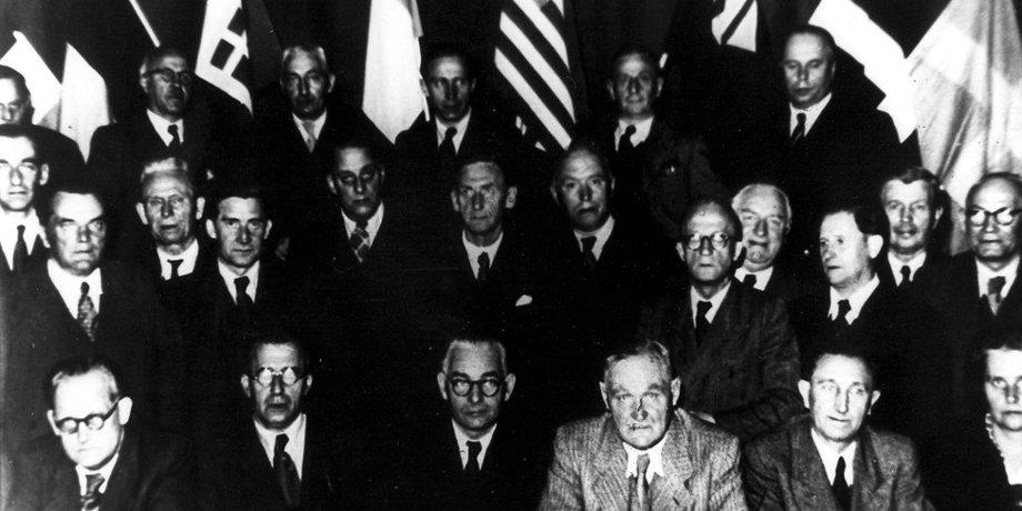 DGB-Gründungskongress Oktober 1949 in München