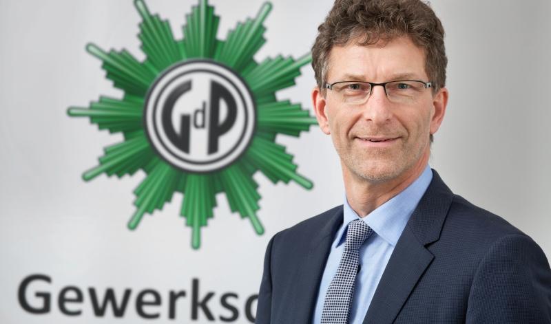 Oliver Malchow, Vorsitzender Gewerkschaft der Polizei GdP