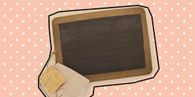 Unterricht auf der Schiefertafel: Wenn das Tablet beim Homeschooling fehlt