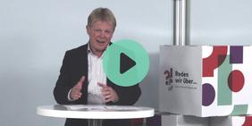 Reiner Hoffmann begrüßt zur Digitalen Zukunftsdialog-Konferenz am 10.10.2020