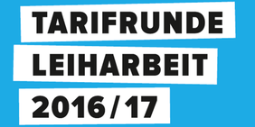 Logo Tarifrunde Leiharbeit 2016/17