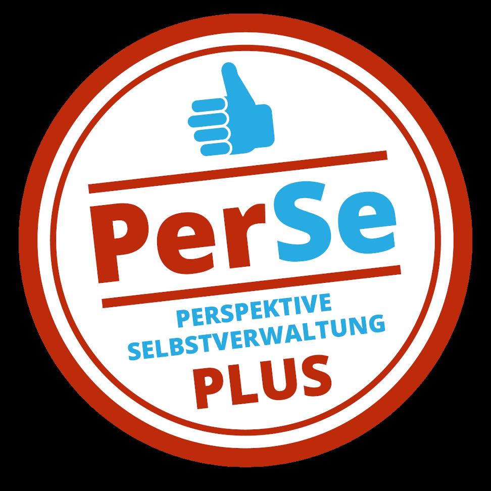 Logo des Projekts Perspektive Selbstverwaltung Plus