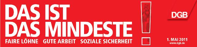 Banner 1 Mai 2011