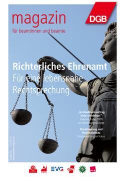 Titelbild Magazin für Beamtinnen und Beamte 4/2016
