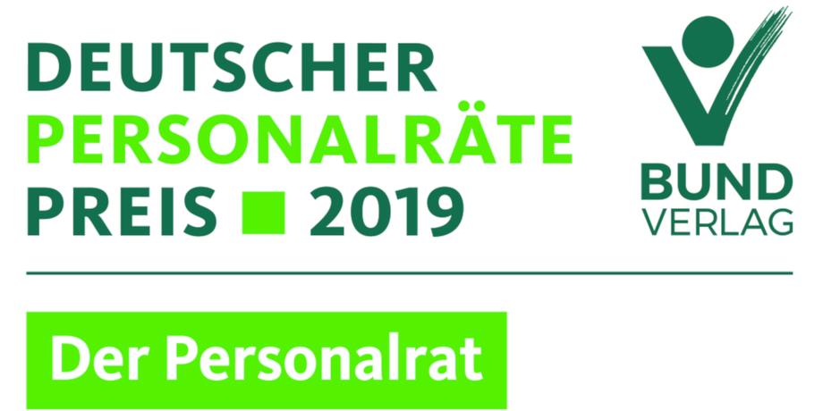 Logo Deutscher Personalräte-Preis