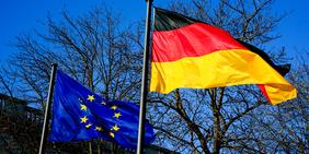 Fahnen EU / Deutschland