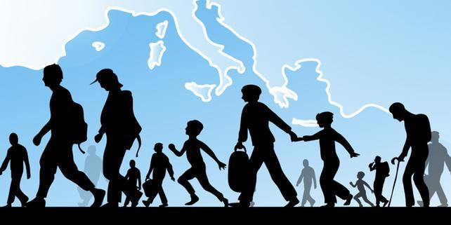 Grafik Flüchtlinge