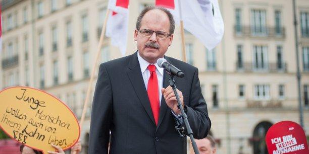 DGB-Vorstandsmitglied Stefan Körzell, Juni 2014
