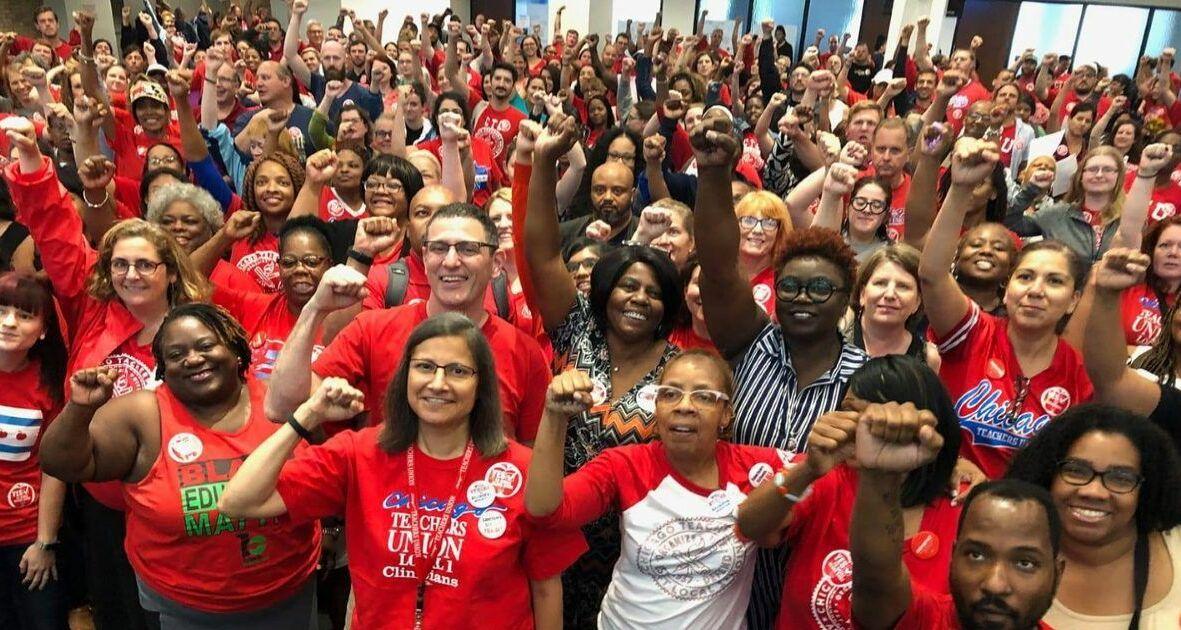 Erfolg nach elf Streiktagen: Lehrerinnen und Lehrer in Chicago im Herbst 2019