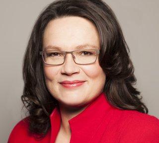 Andrea Nahles, Bundesarbeitsministerin