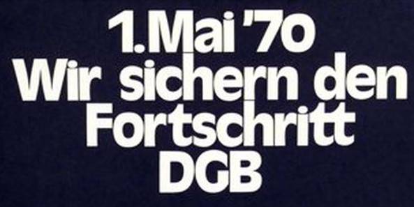 DGB 1. Mai 1970