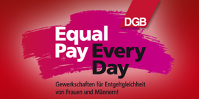 Logo Equal Pay Day 2015, DGB