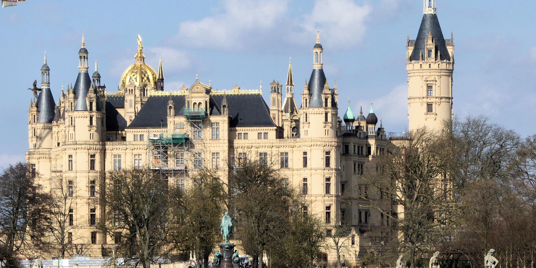 Panorama Schloss Schwerin