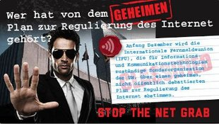 Stop the Net Grab - Finger weg vom Netz