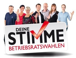 Betriesräte mit Logo BR-Wahl 2014