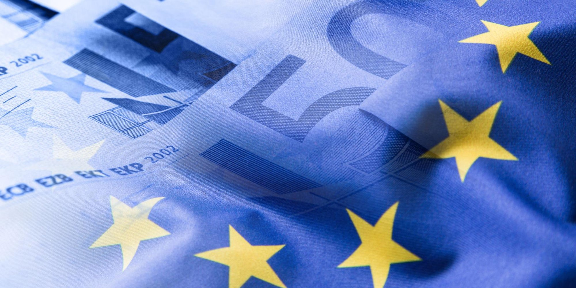 EU-Sterne und Geldscheine
