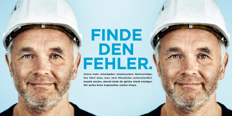 """Kampagne DGB """"Klare Regeln für Werkverträge"""""""