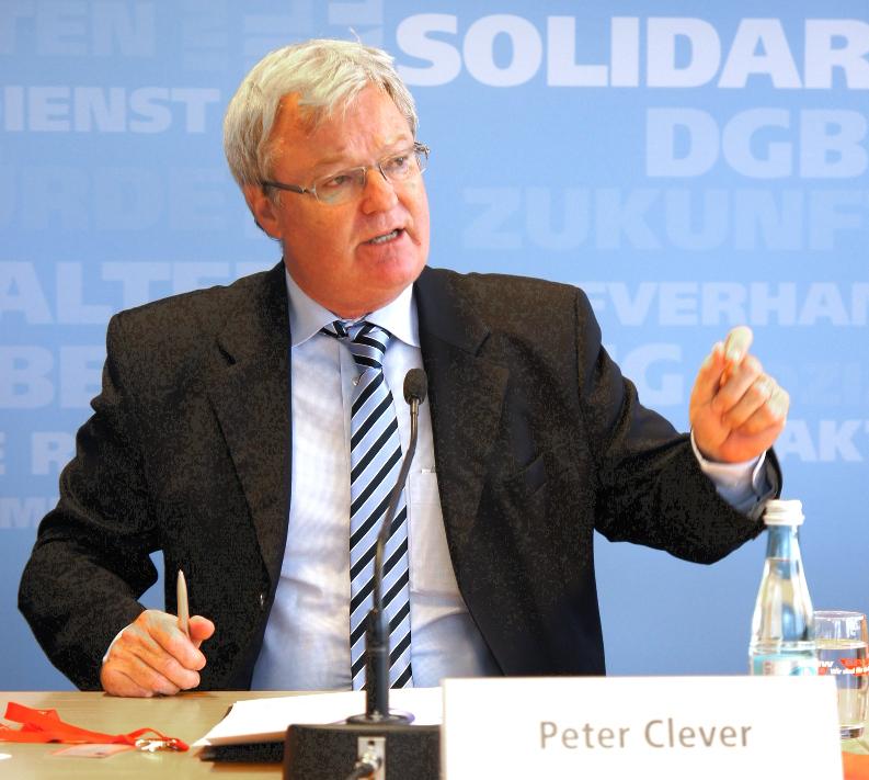 Peter Clever, Mitglied der Hauptgeschäftsführung der BDA