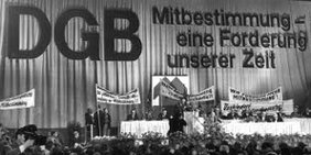 DGB-Kongress Mitbestimmung
