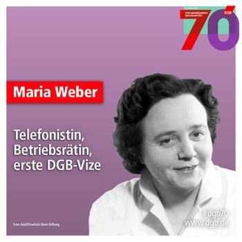 Porträt Maria Weber
