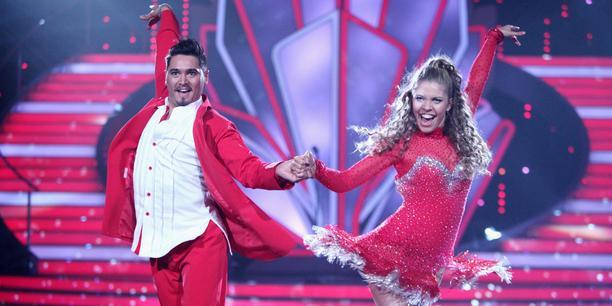 Victoria Swarovski und Erich Klann Let's dance 2016