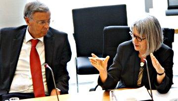 Wolfgang Bosbach und Annelie Buntenbach