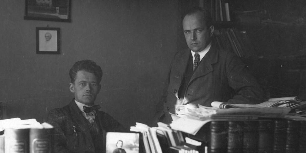 Zeitungsredakteure 1923