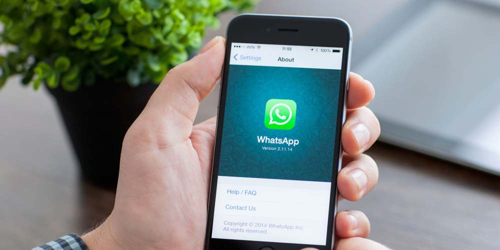 Smartphone, Whatsapp