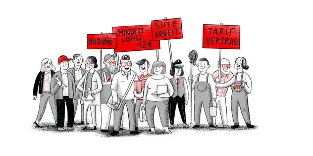 Grafik sozial gerechte Transformation