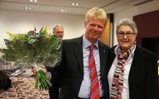 Reiner Hoffmann und Elke Hannack