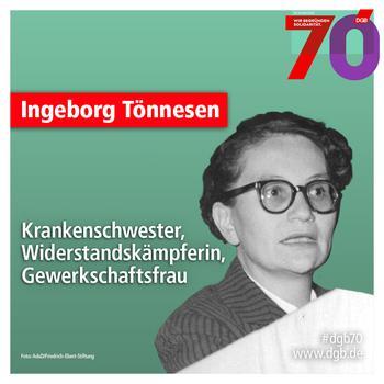 Poträt Ingeborg Tönnesen