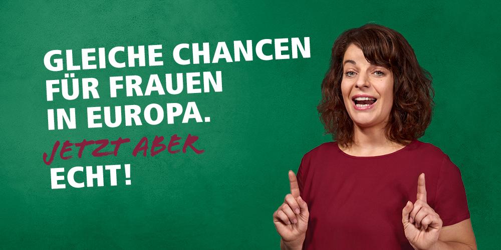 Motivbild Europawahl 2019: Gleiche Chancen für Frauen in Europa. Jetzt aber echt!