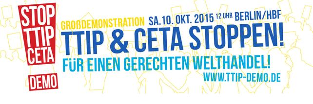 Logo TTIP Demo 10.10. Berlin
