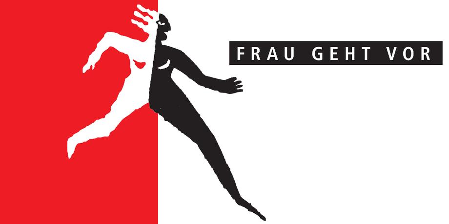 Logo Frau geht vor