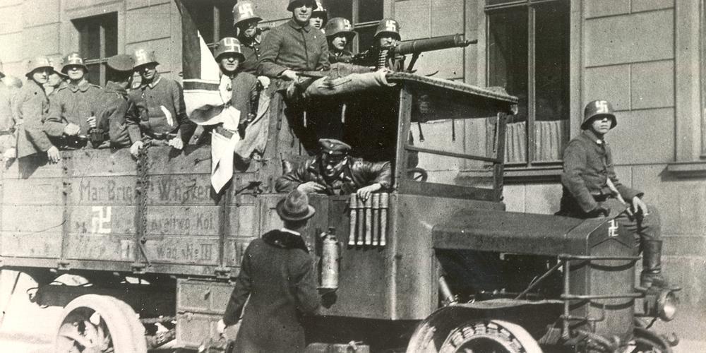 Rechte Freikorps Kapp-Putsch 1920