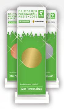 Preise / Pokale des Deutschen Personalräte-Preises 2016