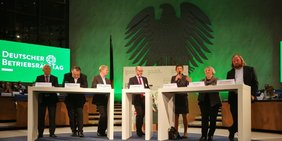 Podiumsdiskussion beim Deutschen Betriebsrätetag