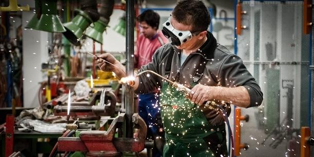 Schweisser Industrie Arbeiter