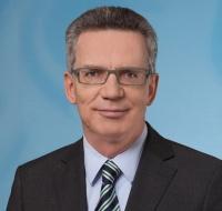 Bundesinnenminister Dr. Thomas de Maizière
