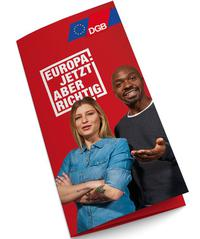 Flyercover DGB-Europawahlkamapgne 2019