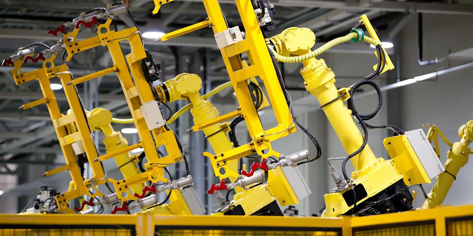 Teaser Roboter Automatisierung Fertigung Industrie