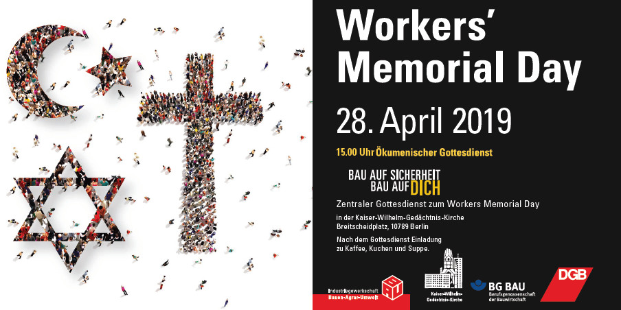 Gottesdienst Workers' Memorial Day 2019
