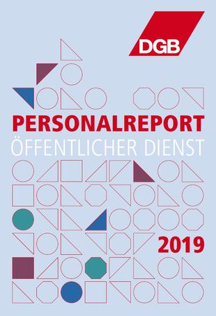 Titelbild des DGB-Personalreports 2019