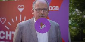 Stefan Körzell (DGB) vor Bundestagswahl