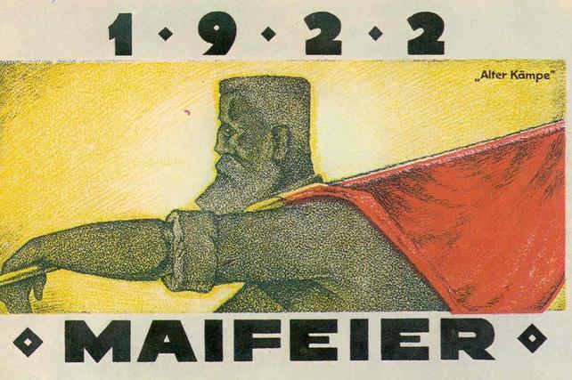 Maipostkarte, 1922
