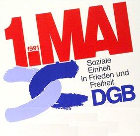 Mai-Plakat 1991 (Eindrurckplakat)