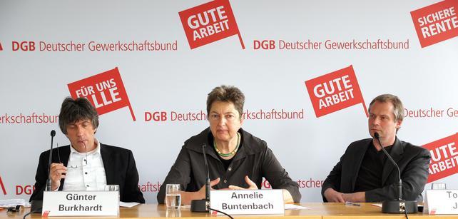 Pressegespräch mit Pro Asyl, Interkultureller Rat und DGB
