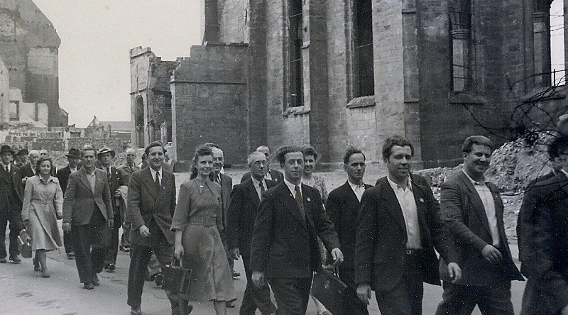Wanne-Eickel 1. Mai 1946