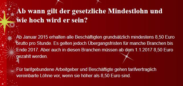 wie hoch ist der mindestlohn in deutschland